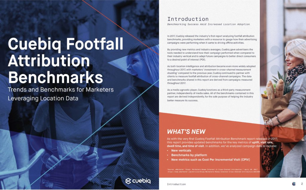 preview of footfall attribution benchmarks report